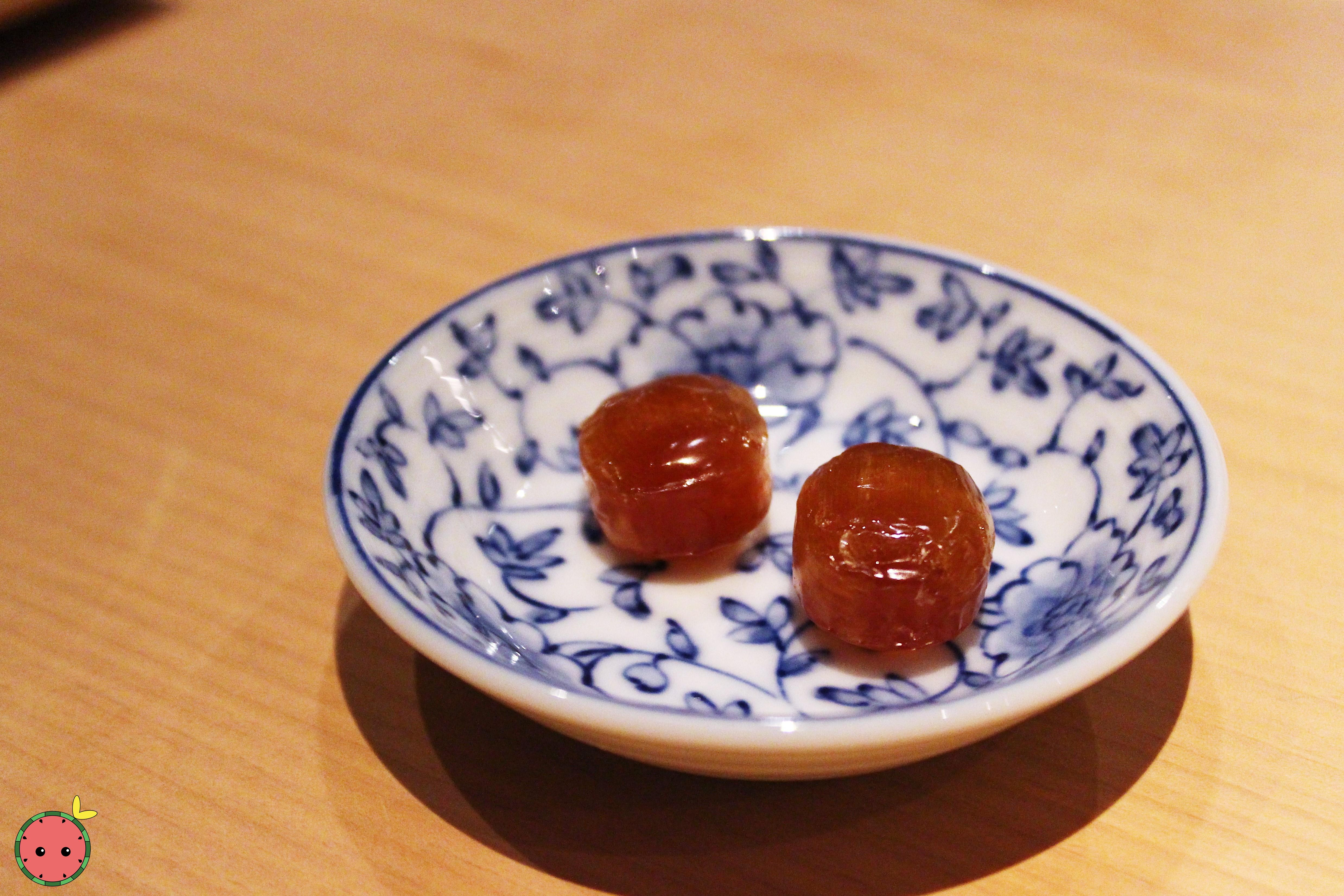 Soy sauce candy