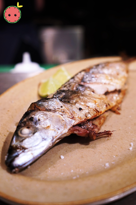 Whole Grilled Ike Jime Mackerel (2)