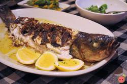 Roasted Branzino for Two - Fennel leek vinaigrette & meyer lemon