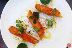 Breaded White Asparagus