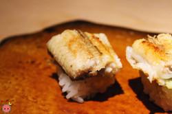 Unagi shioyaki from Himalayan salt
