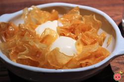 Honey Butter Chips with Vanilla Ice Cream