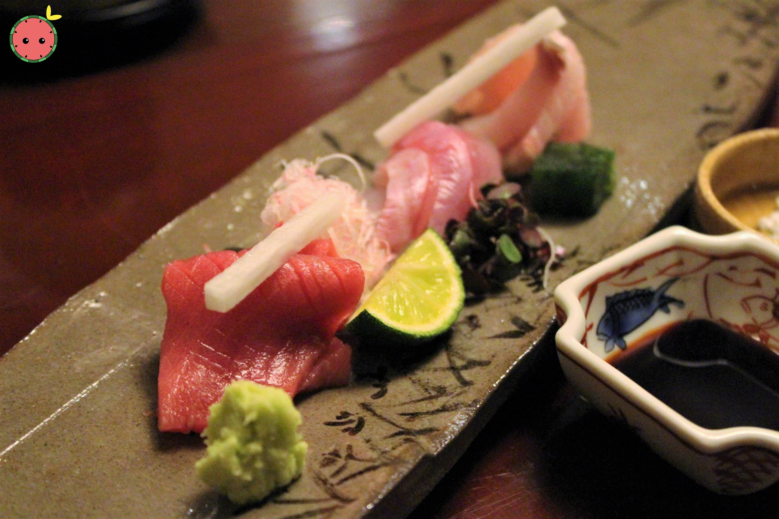 Maguro, Kanpachi, and Kue Sashimi 2