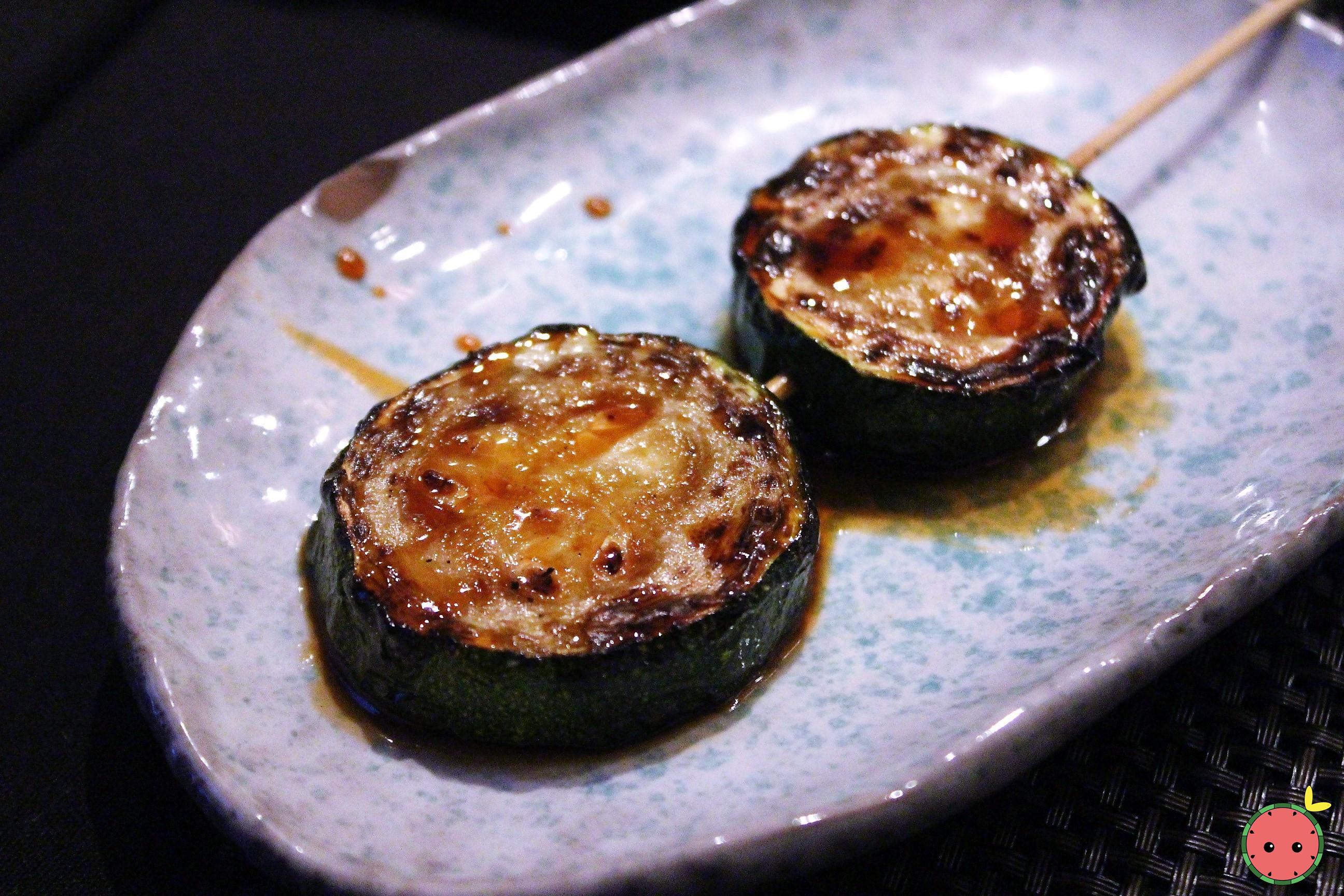 Zucchini Yakitori