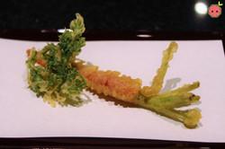 Kyo-Kanzashi Sweet Carrot Tempura