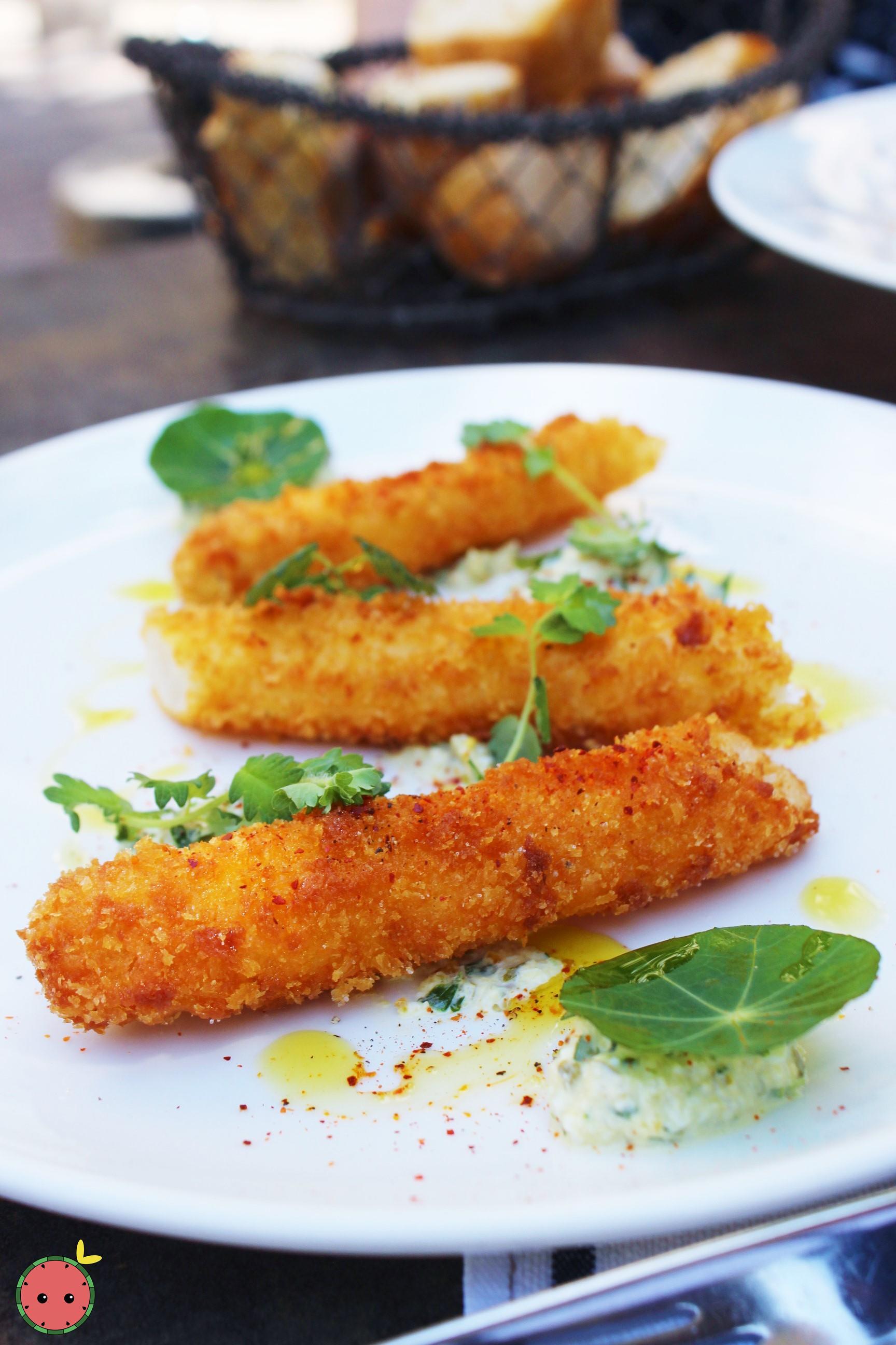 Breaded White Asparagus 2