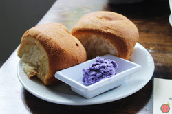 Bread with Ube Butter
