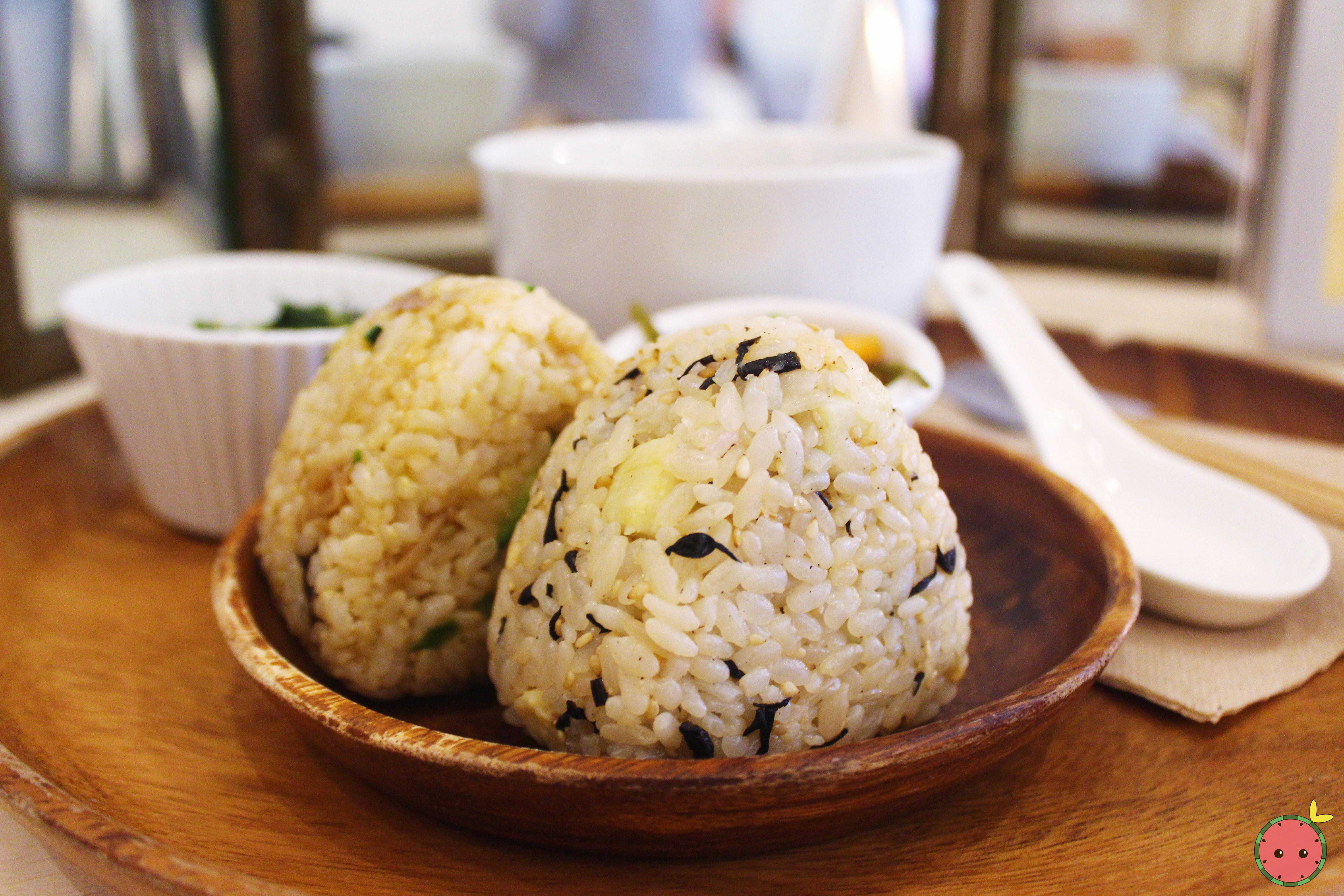 Wakame - Wakame-seaweed, yukari, shisonomi-pickles and shibazuke-pickles