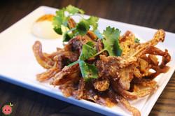 Crispy Mimiga - Pig ear, shichimi, japanese mayo, sake