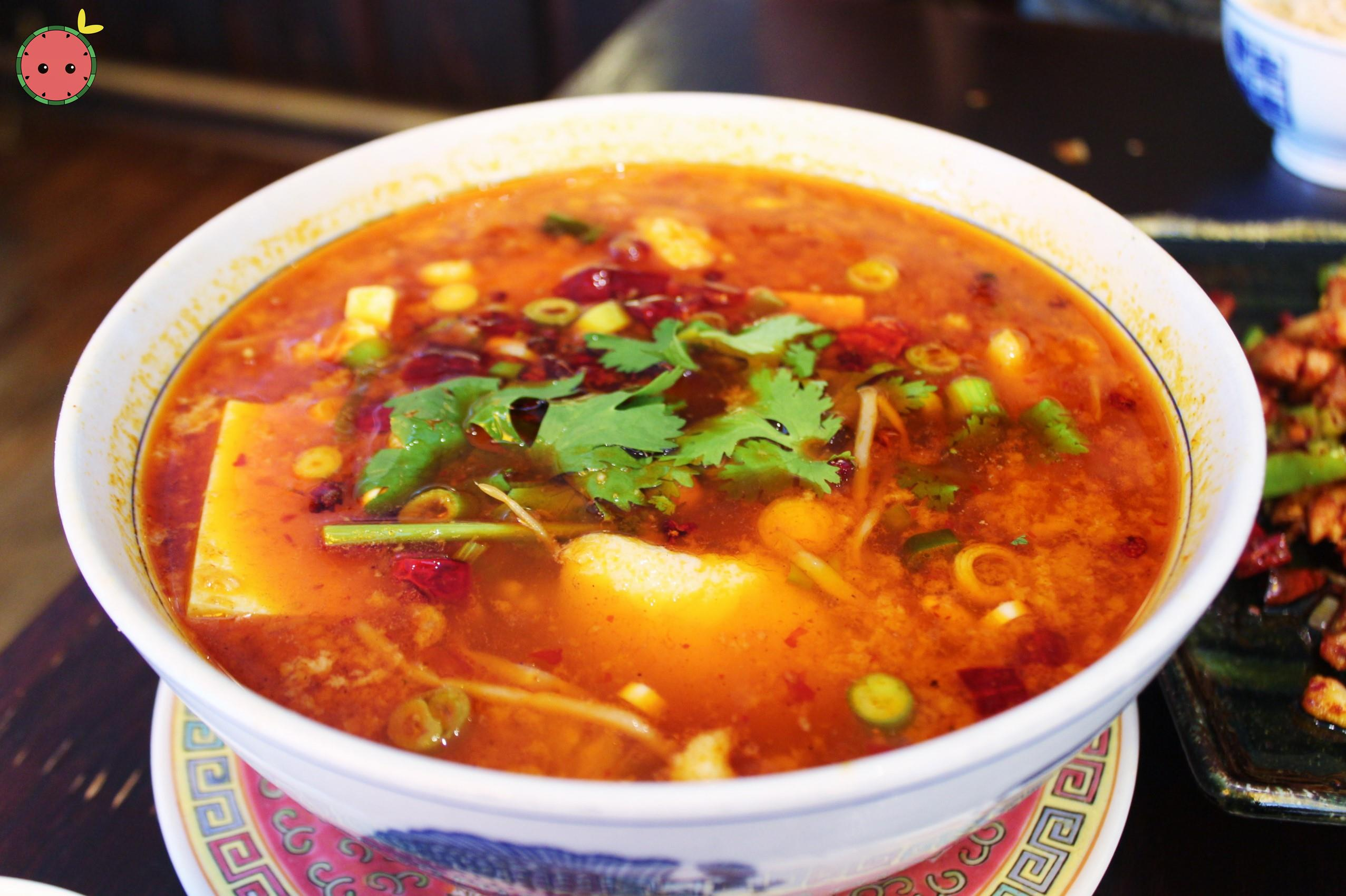 Chungking Braised Fish in Red Soup - Tilapia or fillets of sole with chili oil and peppercorn
