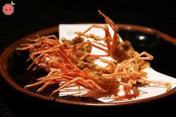 Fried Shrimp Head