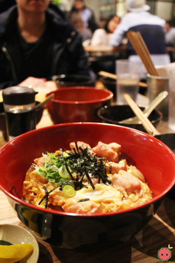 Oyako Don - Simmered chicken and egg over rice