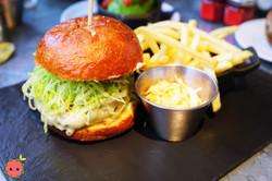 Wagyu Burger - 100% Wagyu Beef, Cheddar,