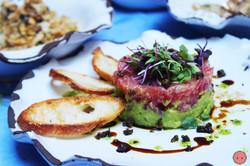 Tartare di Tonno - Yellowfin tuna tartare with capers and avocado