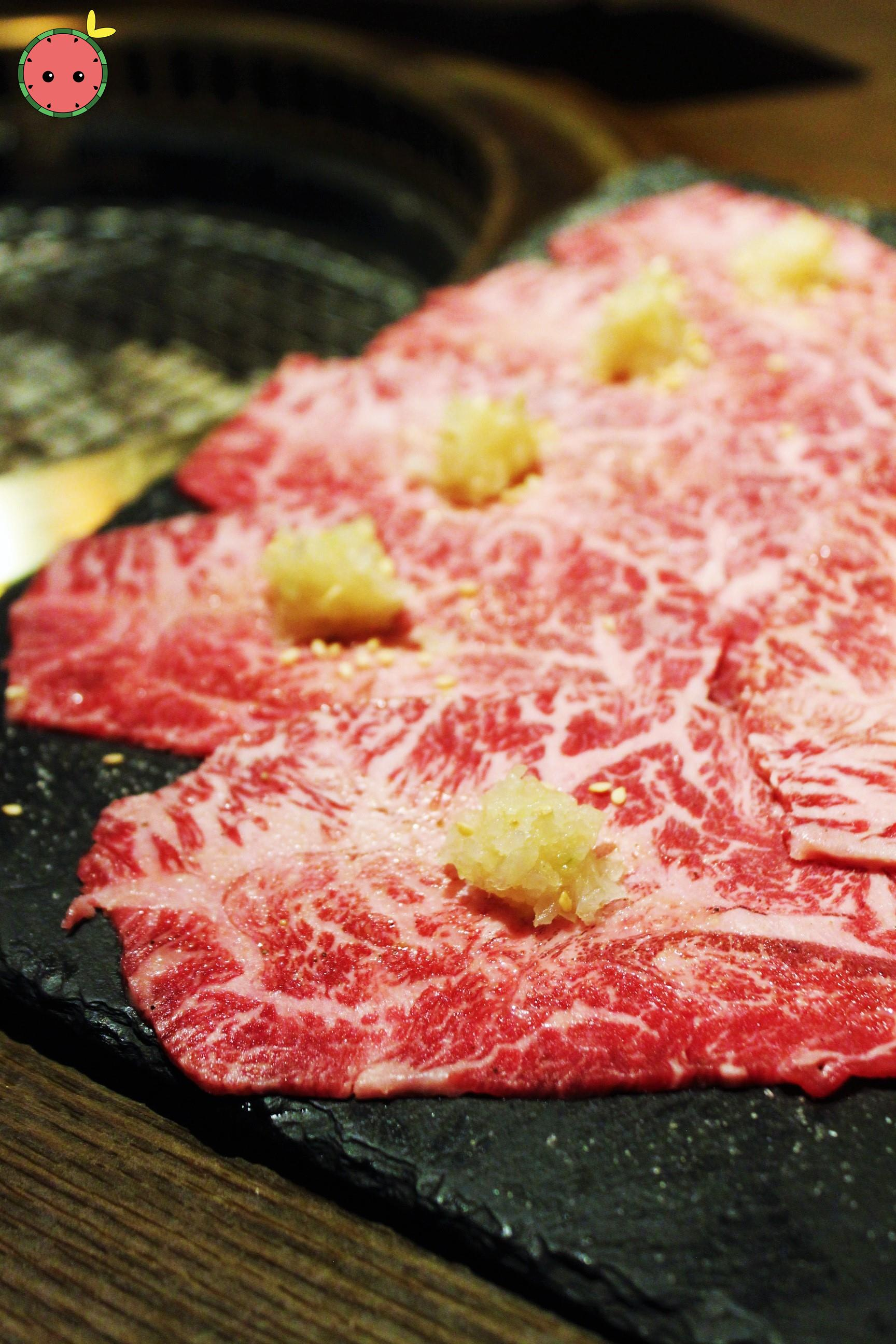 Wagyu Beef Shoulder Marinated in Sweet Soy with Grated Radish and Onion (1)