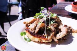 Crispy Valencia Rice with Mushroom Ragu