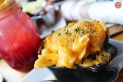 Macaroni and Cheese (Torchio Pasta, Five Artisanal Cheeses, Crispy Herb Crust)