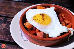 Migas - Chorizo with Fried Egg