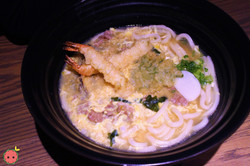 TsuruTonTan Deluxe - Shrimp & vegetable tempura, beef short plate, chicken, egg dropped (2)