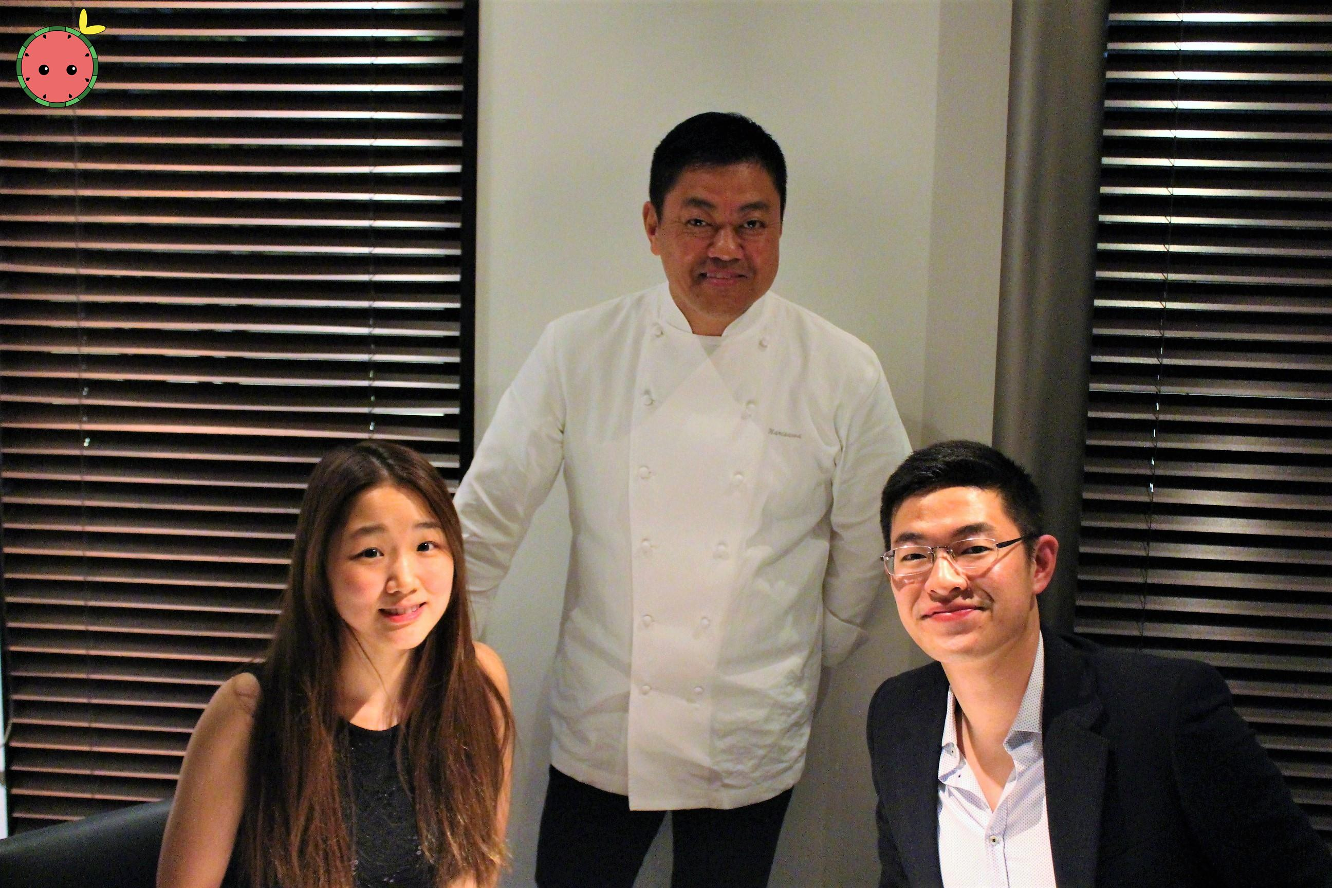 With Chef Narisawa!