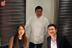 With Chef Narisawa!