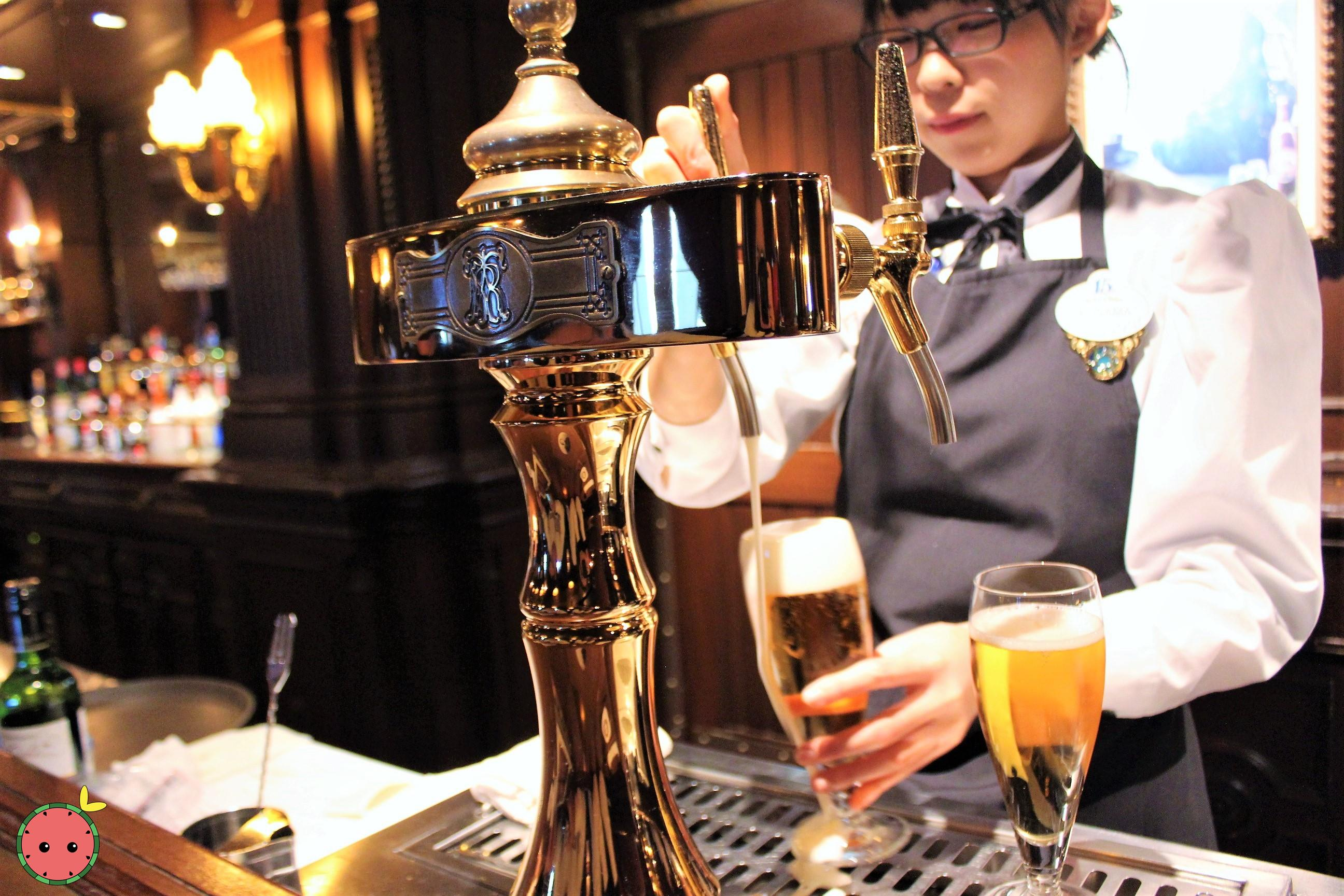 The Teddy Roosevelt Lounge Beer Dispenser
