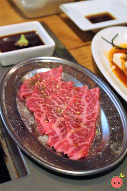 Lightly Broiled Beef with Sea Urchin