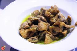 Mushrooms with Garlic and Parsley
