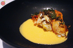 Beauty and the Beast - Grilled lobster and beurre blanc