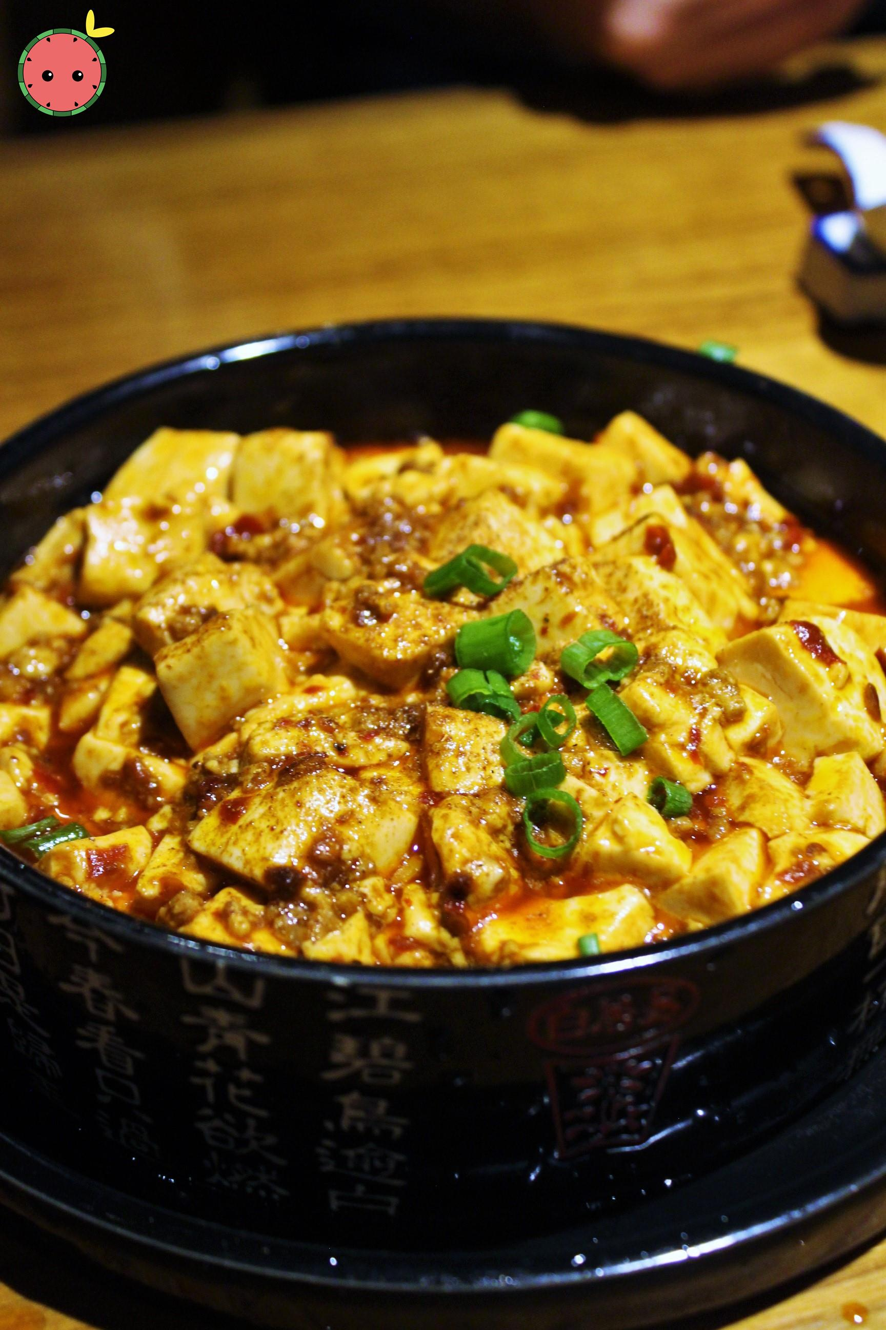 Ma Po Tofu with Chili Minced Pork