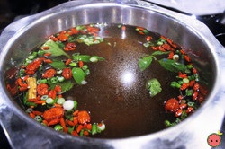 Herb with Beef Pot