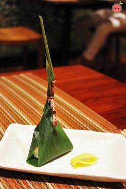 Oshinogi - Braised Asari Little Neck clam sushi