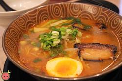 Spicy Miso Ramen - Chicken broth, pork chashu, egg, takana, and thin straight noodles