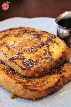 Mom's French Toast soaked in condensed milk custard 2
