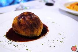 Wellington - Medium Rare Beef Tenderloin, Mixed Mushrooms, Foie Gras, Pastry Crust  & Red Wine Sauce