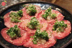 Beef Tongue with Onion Scallions Sesame Seeds (1)