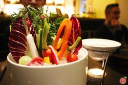 Vegetable fondue