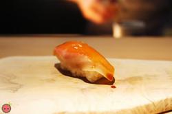 Scottish salmon with rice wine vinegar