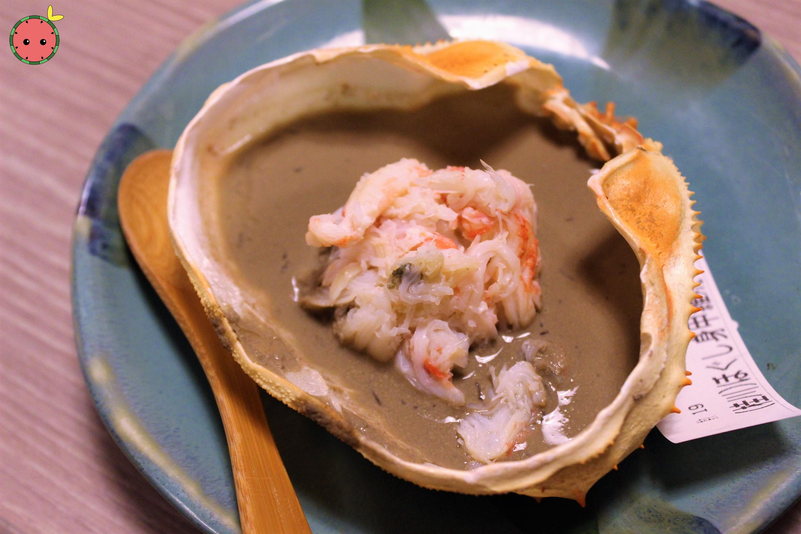 Grilled Crab Flakes & Paste the Shell