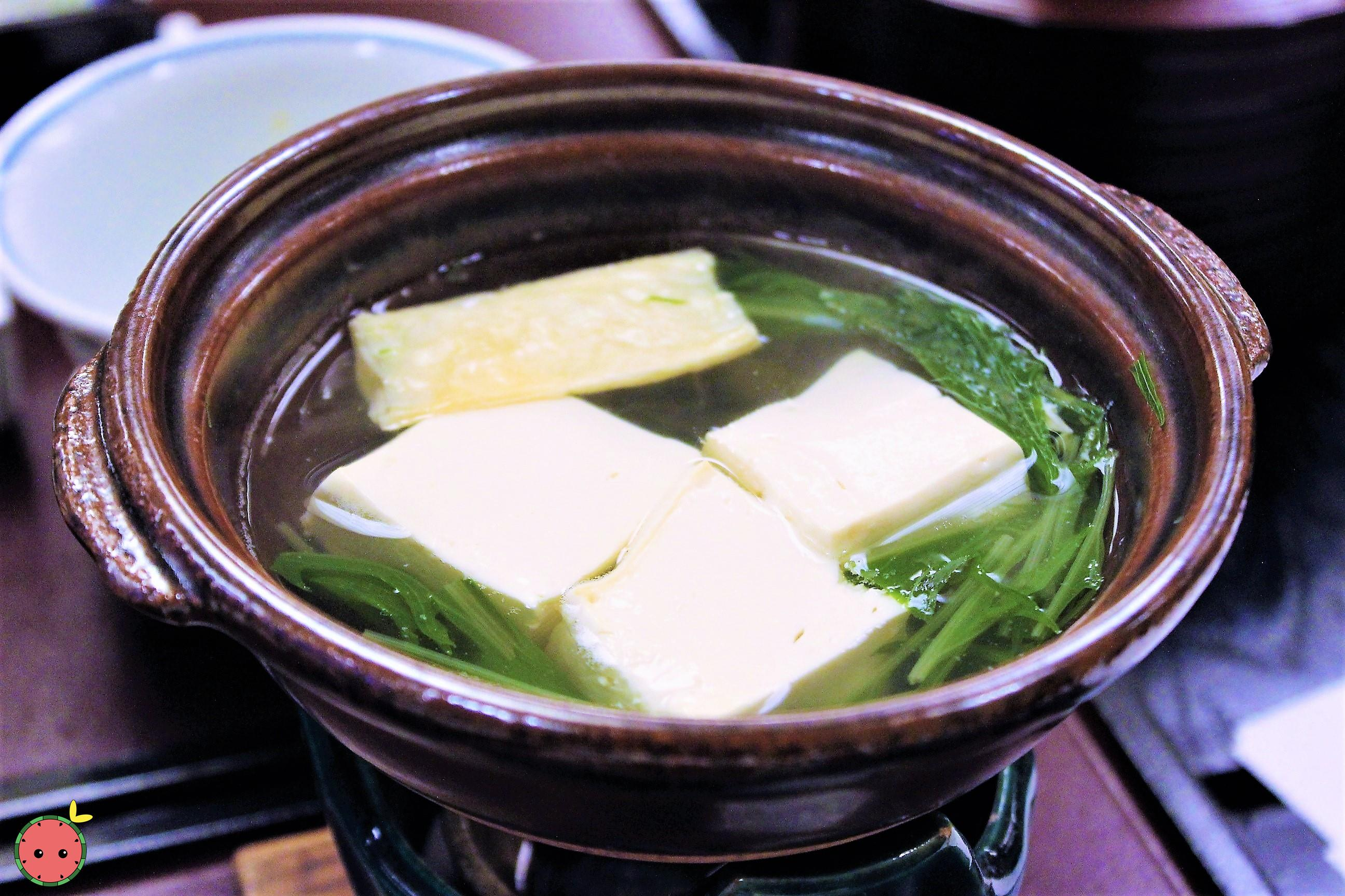 Clear Tofu Soup
