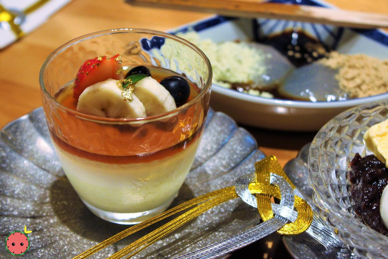 Pistachio and Coconut Bavarian Cream
