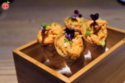 Spicy_Tuna_Tartare_Cone_-_Avocado_purée_&_purple_shiso