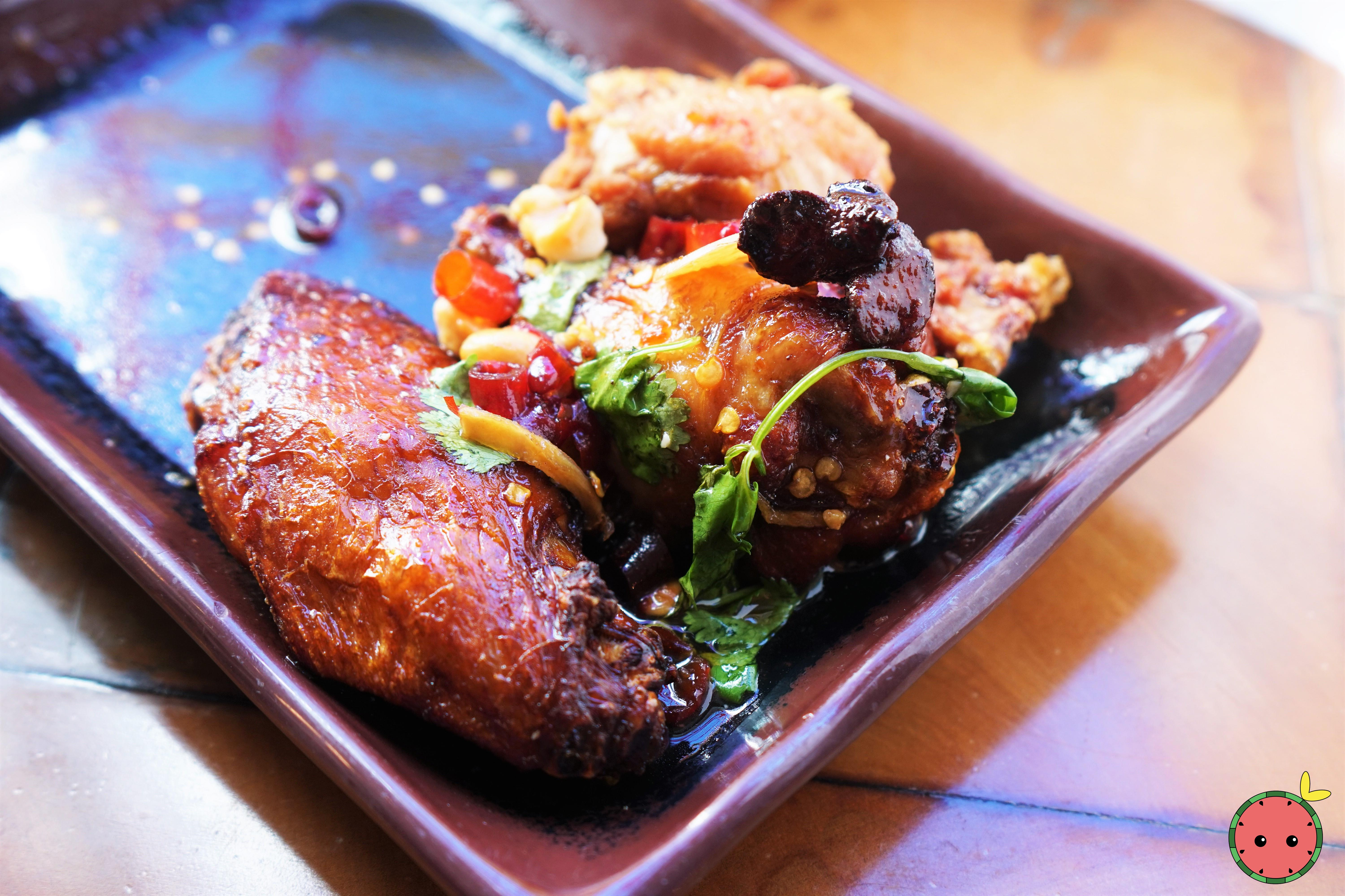 Maple-Miso Smoked Chicken Wings 2