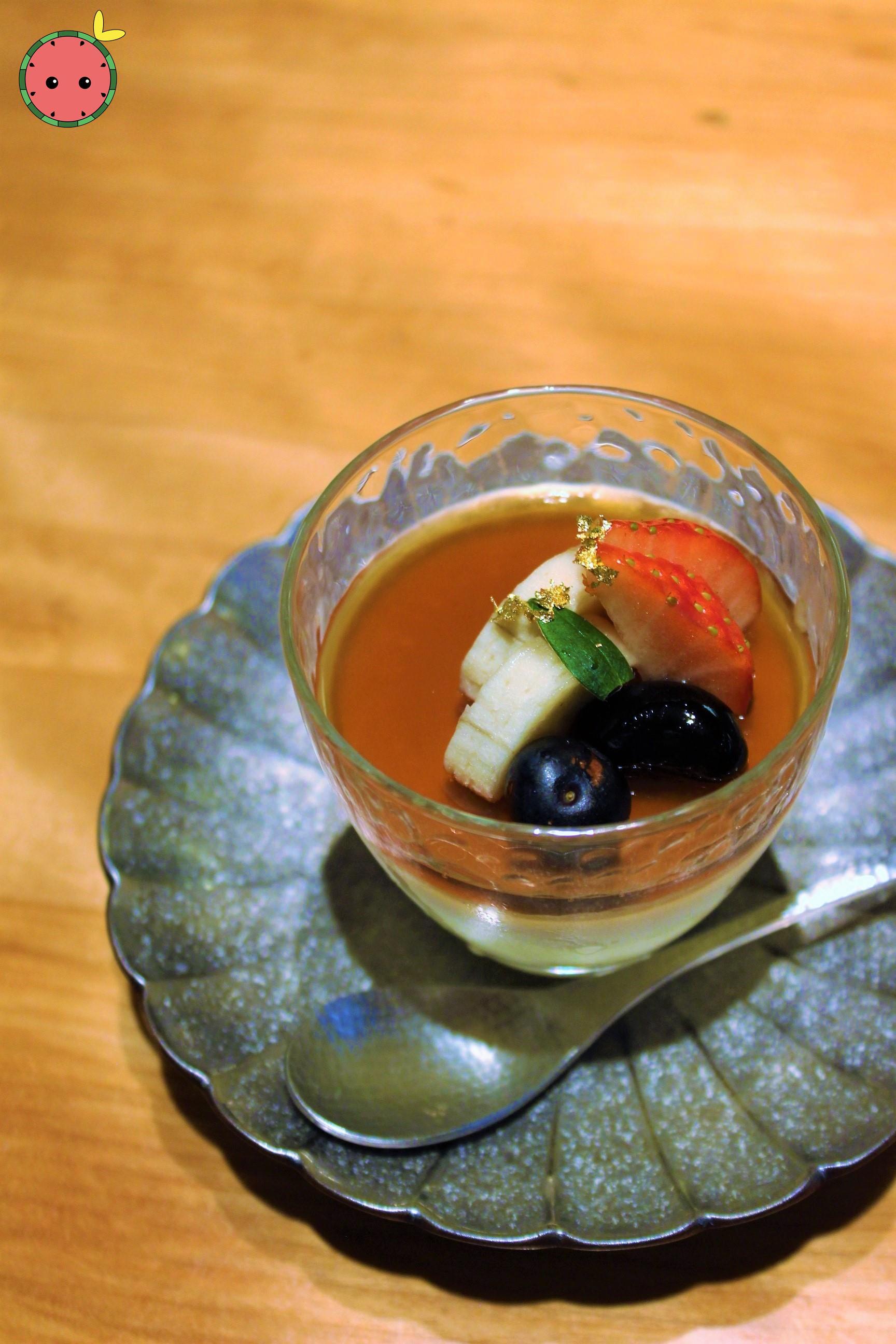 Pistachio and Coconut Bavarian Cream 2