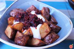 Xiringuito Fried Potatoes in Spicy Tomato Sauce