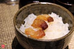 Crispy Beef Fat over Rice