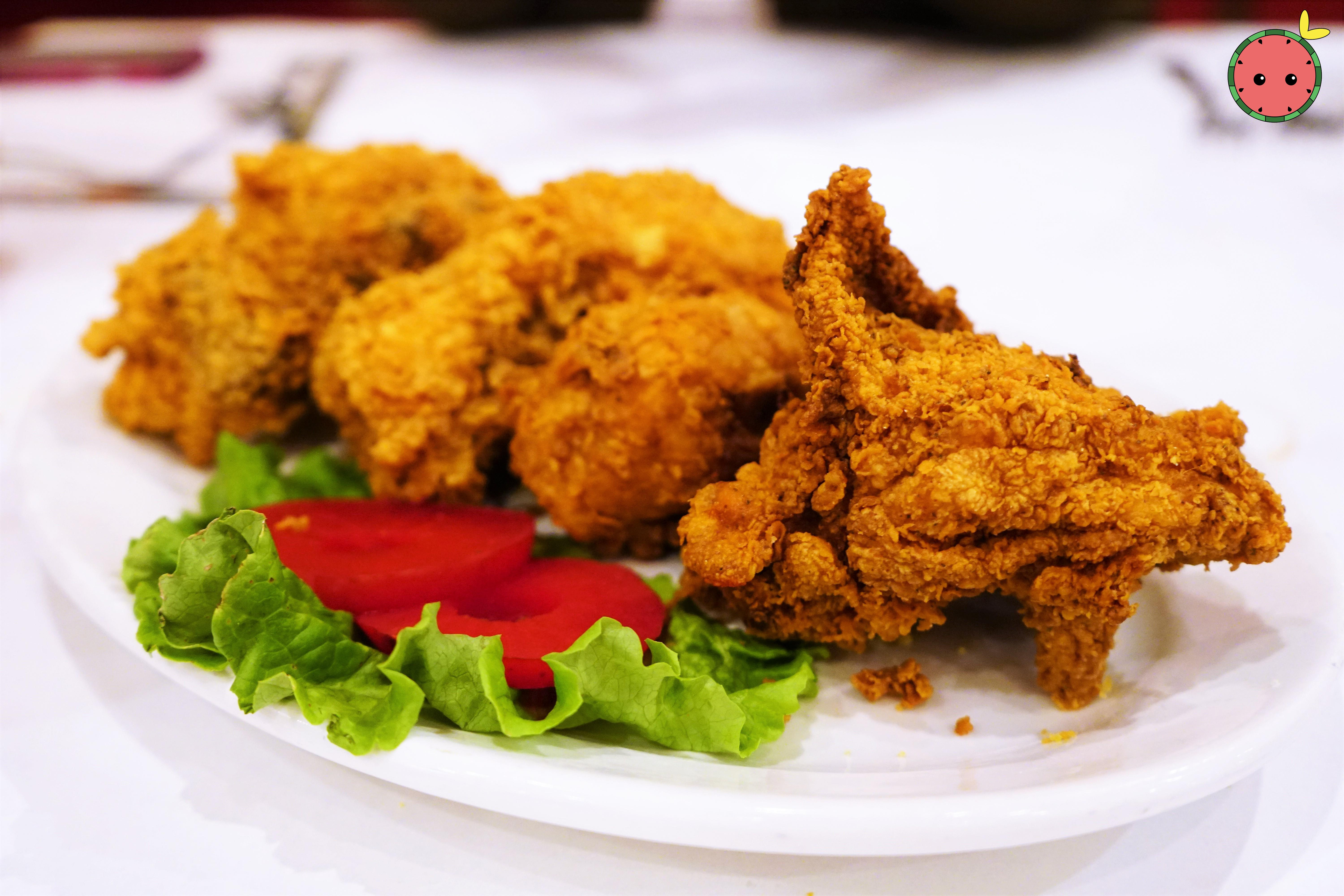Fried Chicken A-La-Dooky Chase Style