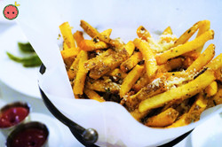Cut Fries with Truffle Oil & Reggiano