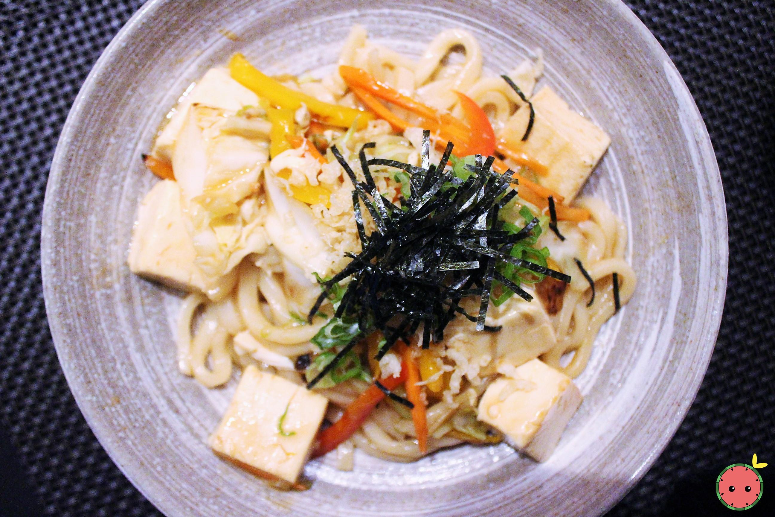 Tofu Yaki Udon (2)
