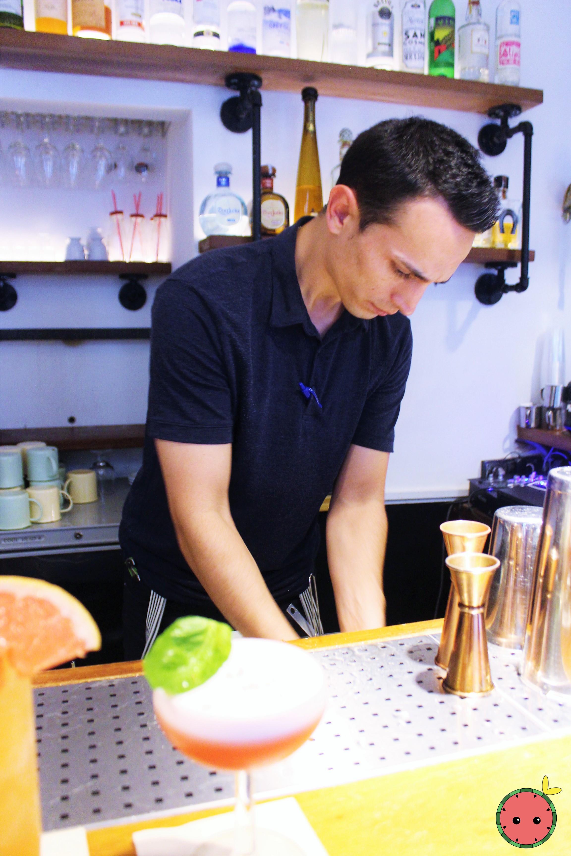 Handsome Bartender!